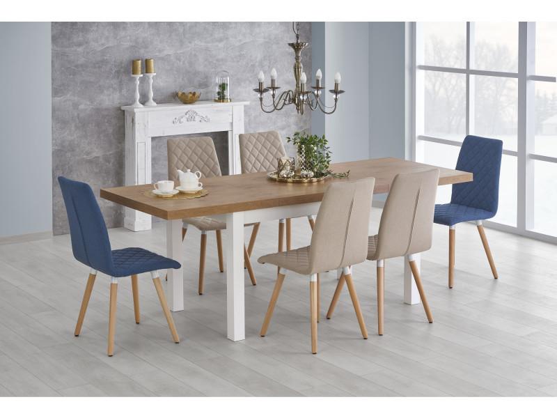 Table à manger extensible 140÷220 cm x 80 cm x 75 cm