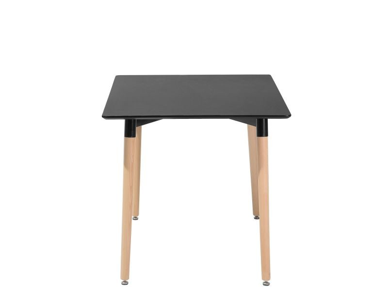Table de salle à manger noire 120x80 cm fly 14771 - Vente de ...