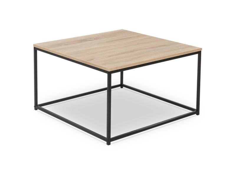 Table Basse Carree Detroit Design Industriel Vente De Id Market