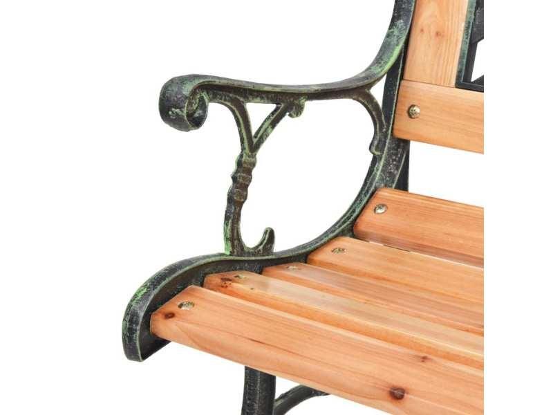 Vidaxl banc de jardin 122 cm bois 40262 - Vente de VIDAXL - Conforama
