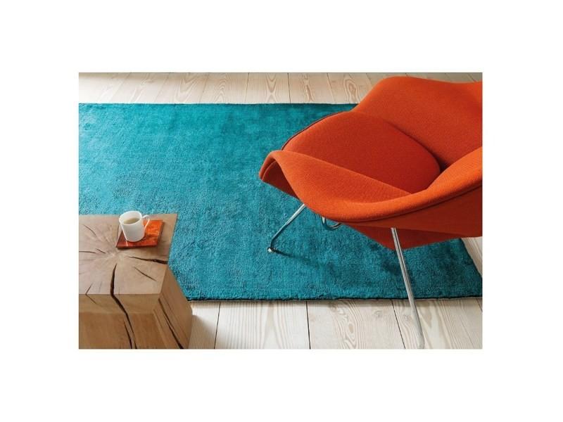 Tapis salon moderne moly bleu turquoise - 200x300 cm - Vente de ...
