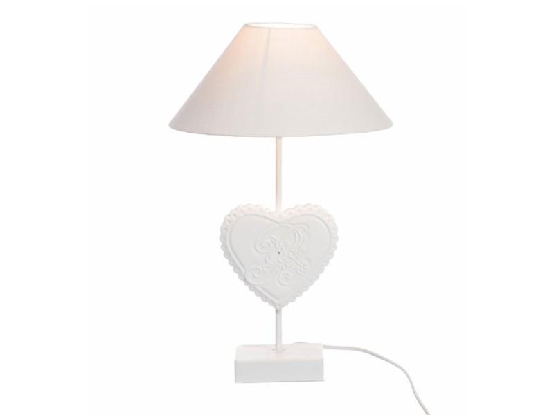 De Chevet Duo 16 H Pendo Lampes Bois Blanc X 5 10 Cœur L dhtoCBsrxQ