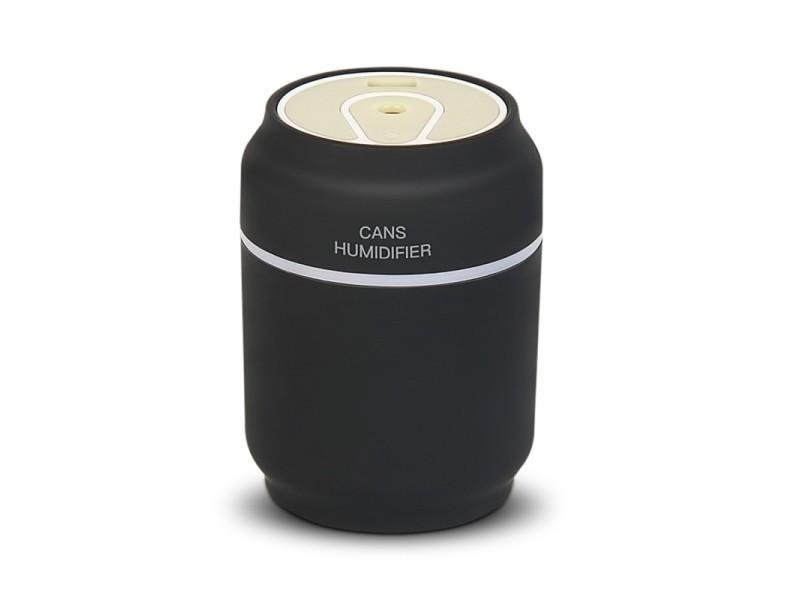 Humidificateur d air noir pour la maison bureau voiture ml