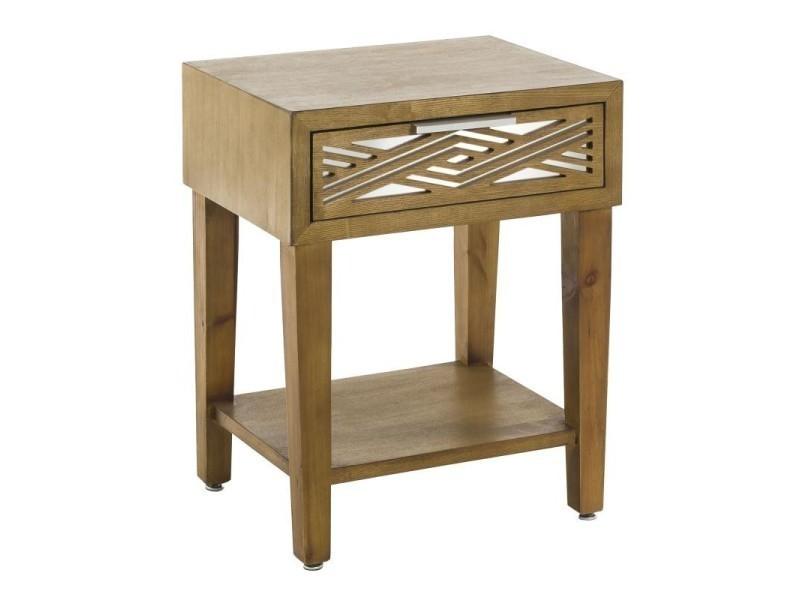 Table l de l tiroir x chevet 1 50 firenze 40 boismiroir CxeoQWrdB