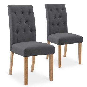 pour salle Vente Lot 6 manger romane à de grises chaises qSzGLVUMp