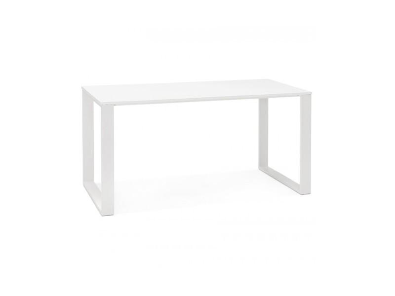 Bureau design ejo white 70x150x75 cm