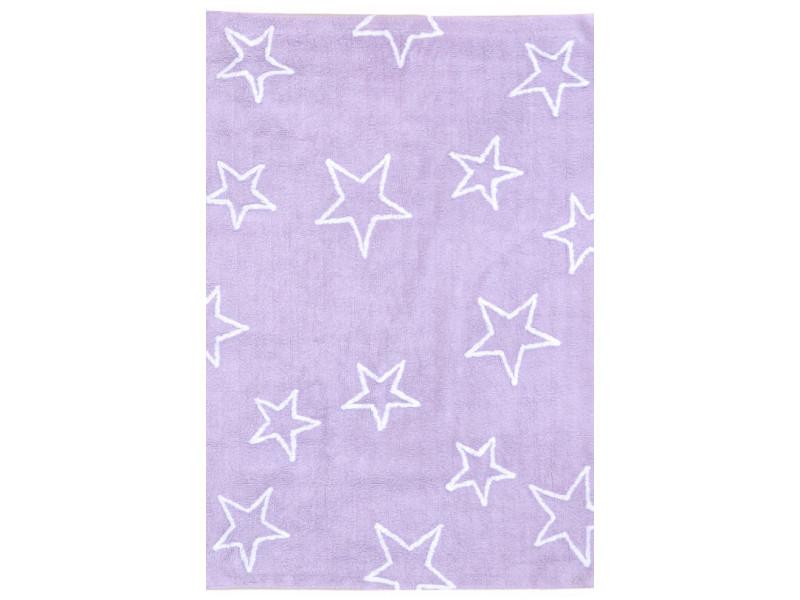Estrellas violet 120 x 160 cm tapis de salon moderne design par ...