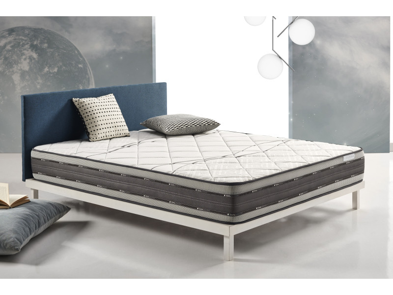 matelas satellite 80x190 cm mousse à mémoire visco v200® - visco gel