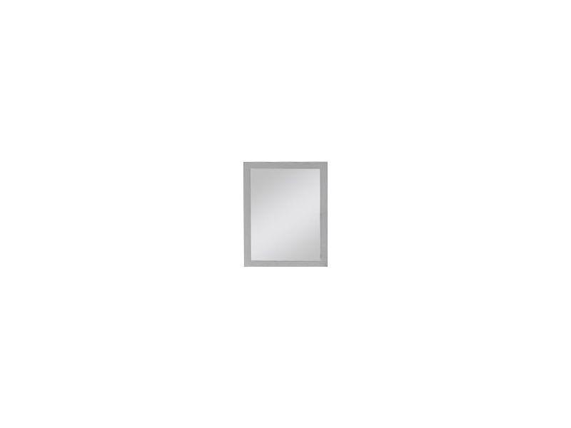 Miroir rectangulaire chambre à coucher coloris blanc p-6380-co