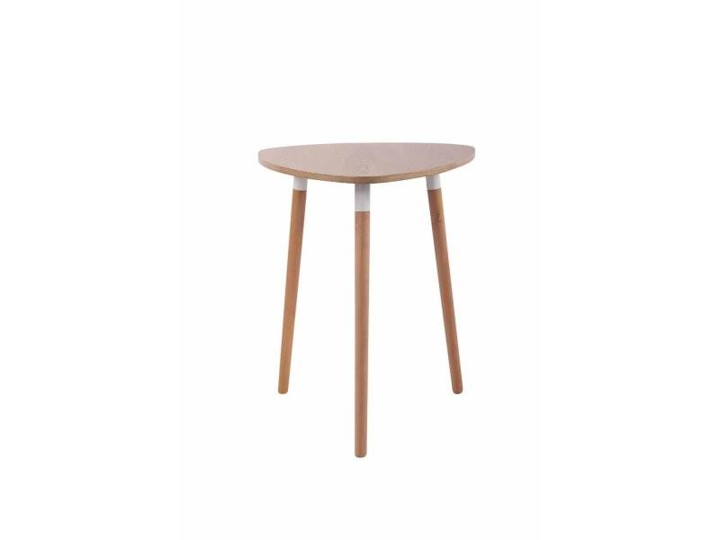 Table De Cuisine Table D Appoint En Bois Couleur Nature