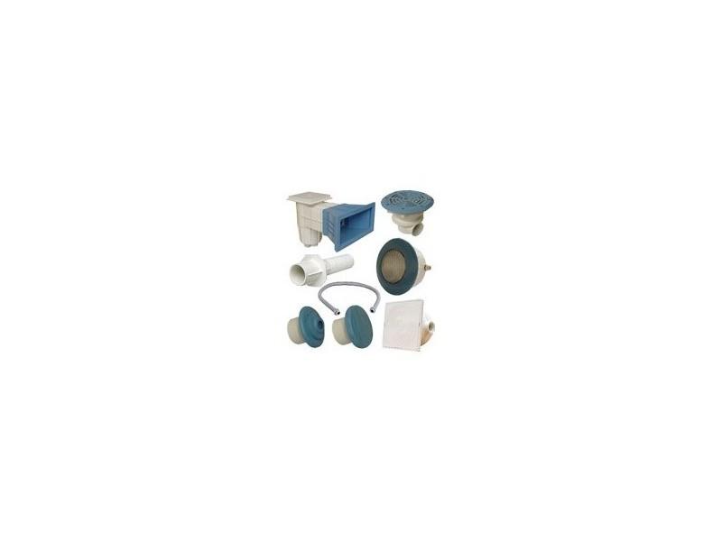 order outlet classic style Kit n°3 pièces à sceller bleues pour piscine béton - Vente de ...