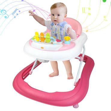 Tranche d/âge: 6 /à 18 mois Todeco Centre dActivit/és pour b/éb/és Motif bleu avec les jouets Trotteur pour B/éb/és Mat/ériau: PP