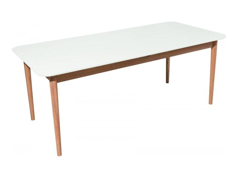 Table en bois 140x80cm lia 9002900005