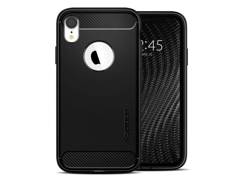 coque iphone xr noir matte
