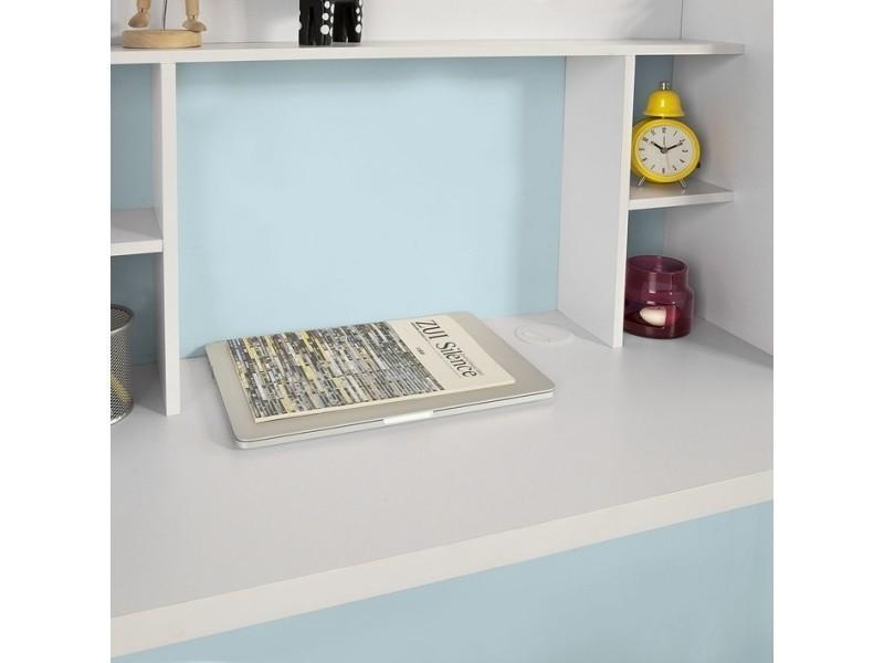 armoire Table murale étagère intégrée avec de bureau XZwOPTluki