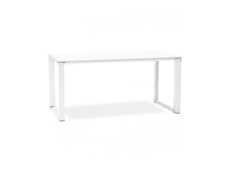 Bureau design warner white 80x160x74 cm