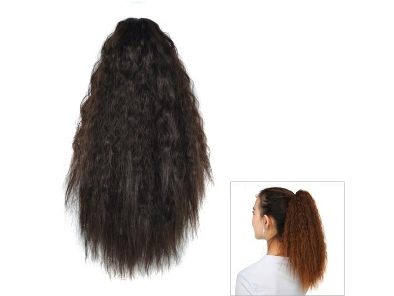 magasin d'usine pas cher images officielles Extension cheveux perruque de queue cheval coupant le maïs ...