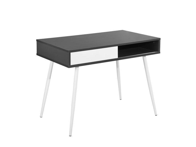 Nash bureau noir et blanc vente de altobuy conforama