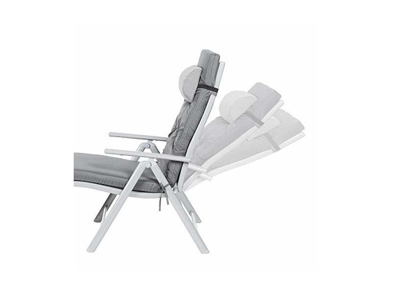 Chaise Avec Matelas De Songmics LongueBain Soleil D'une Épaisseur A34Rj5Lq