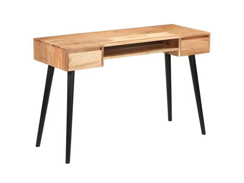 Meubles de bureau ensemble porto novo table à écrire bois d acacia