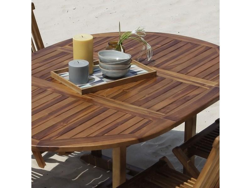 Salon de jardin en bois de teck 4 à 8 places - Vente de ...