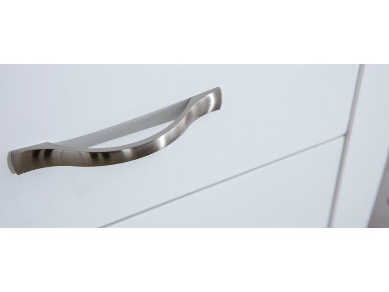 Console Design Laquee Blanc 2 Tiroirs Margot Vente De