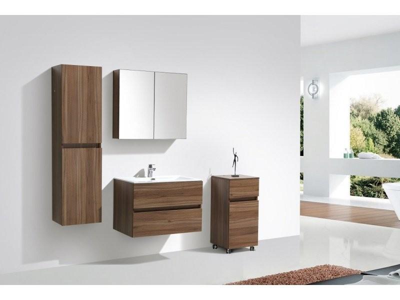 Meuble Salle De Bain Design Simple Vasque Siena Largeur 80 Cm