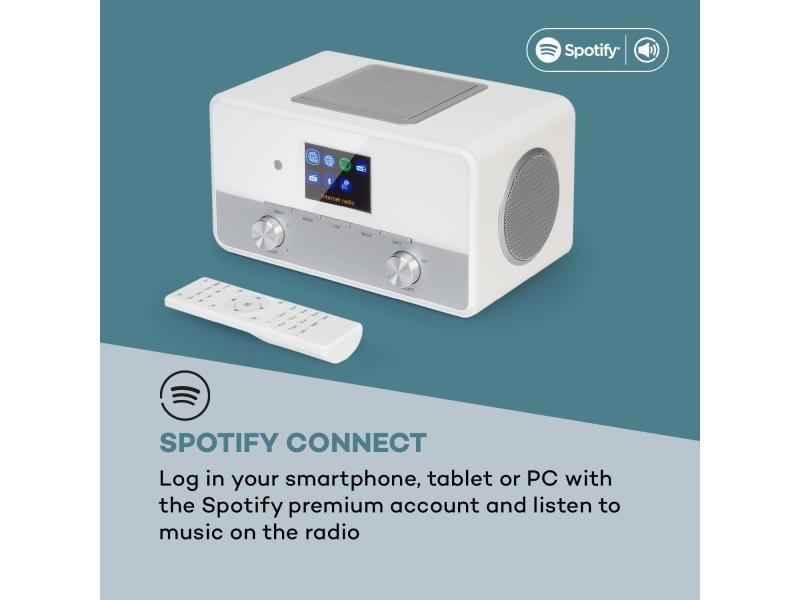 Auna connect 150 se smart radio 2.1 radio internet avec