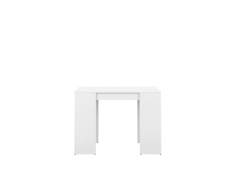 Bois Blanc Practica En 198cm De L49 Vente Console Table Extensible y80mOvNnwP