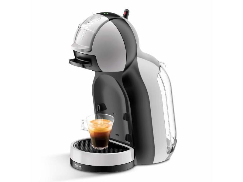 Krups kp123b machine à café expresso dolce gusto mini me 1500w 0,8l gris/noir