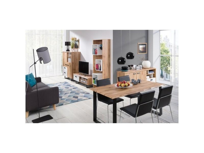Ensemble Complet Pour Votre Salon Design Oak Meuble Tv En