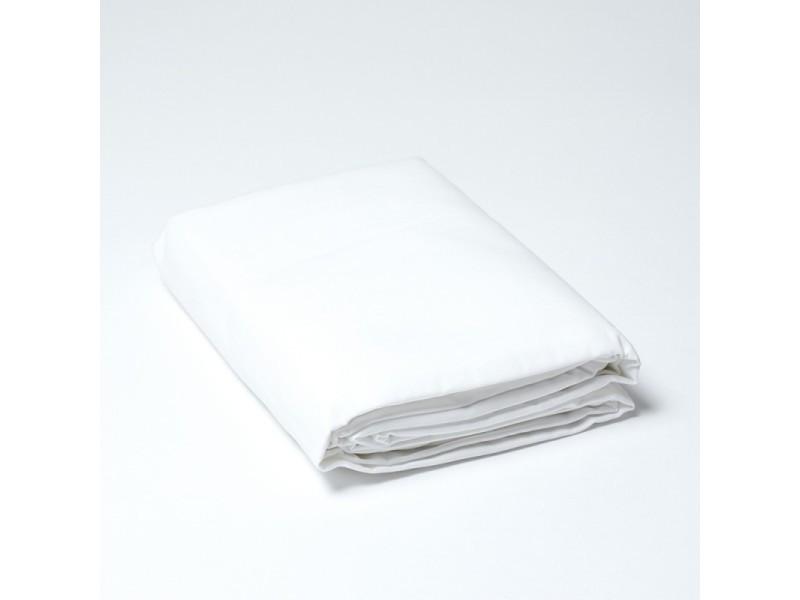Linge De Lit Conforama.Drap Housse Percale Couleur Linge Blanc Linge Blanc Blanc
