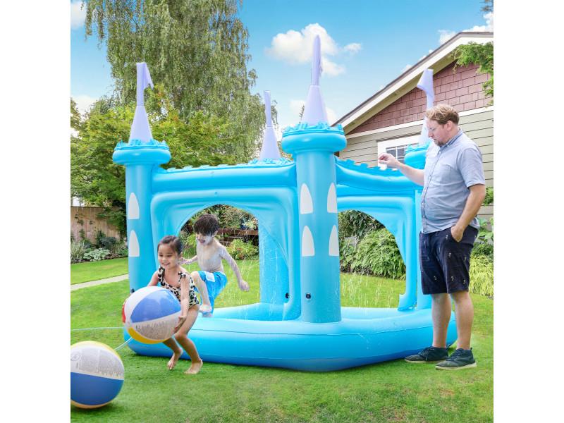 Chateau Gonflable Air De Jeux Aquatique Piscine Pour Enfant Avec