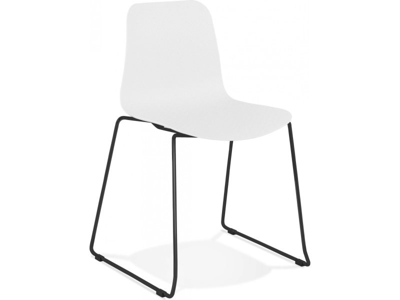 Chaise design bee black CH02390WHBL Vente de KOKOON DESIGN