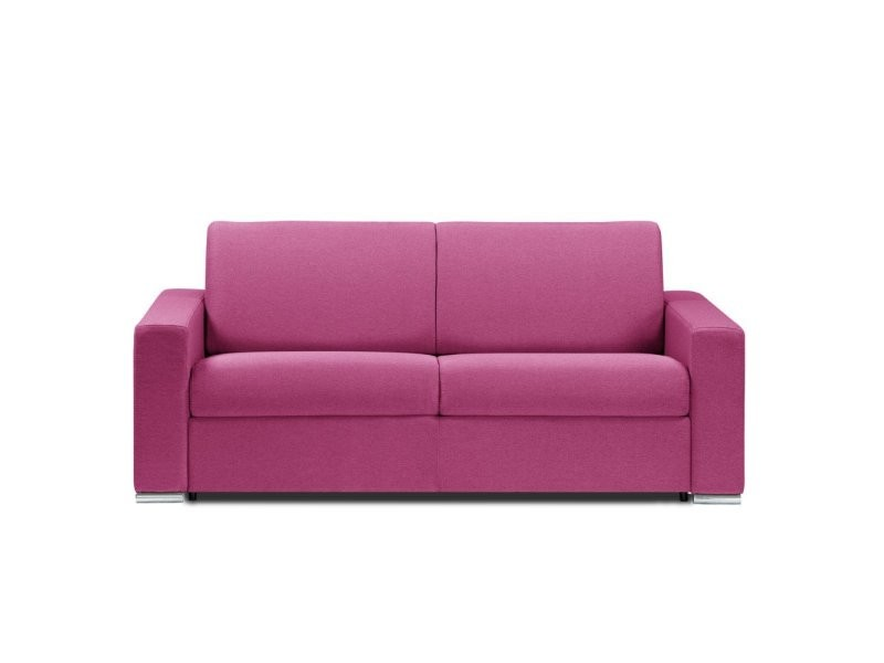 Canapé Lit 4 Places Dreamer Convertible Rapido 160*197*16cm Tissu Neo Rose