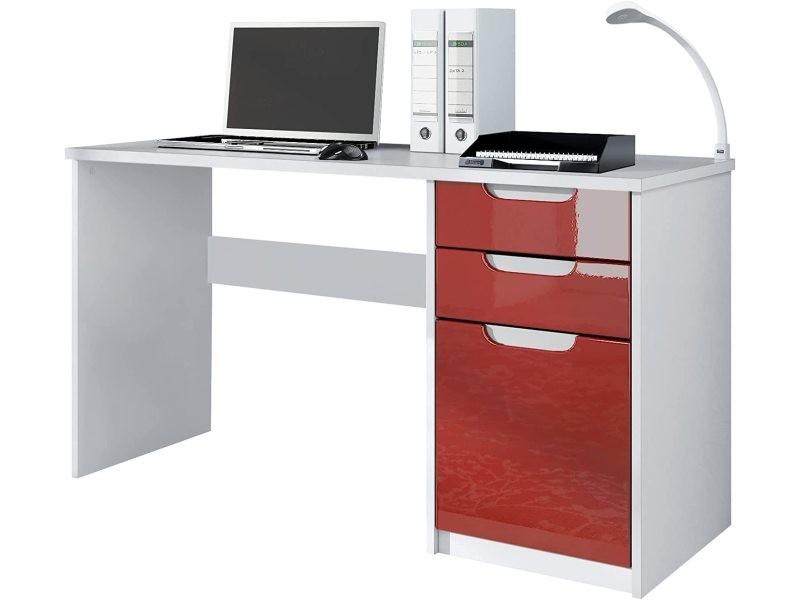 Bureau enfant blanc et rose cm vente de bureau conforama
