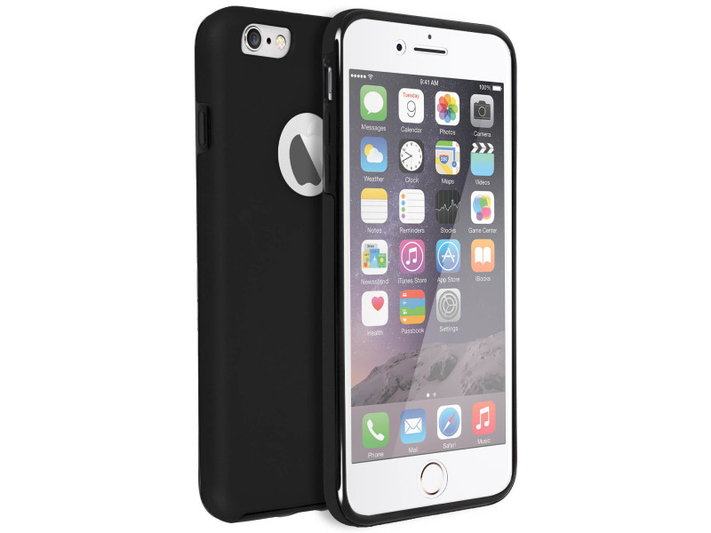 coque iphone 6 s silicone noir