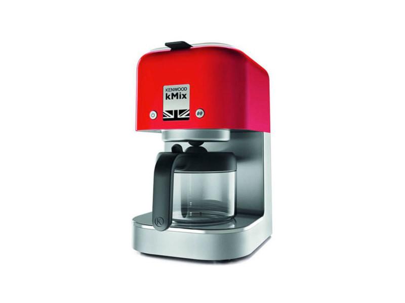 1000w 6 Cox750rd Cafetière Filtre Vente Kenwood Kmix Rouge Tasses Ib7gyY6vf