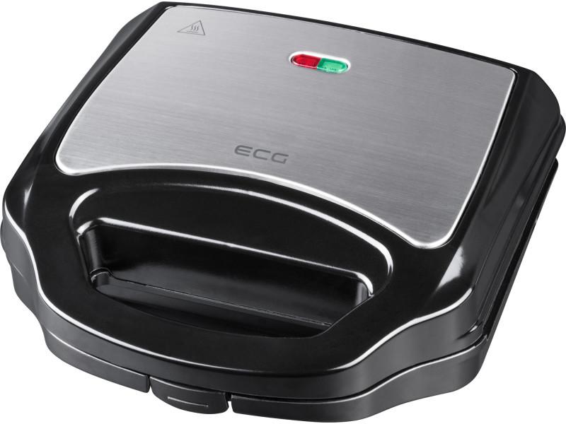 Ecg s 3170 - appareil à sandwiches - surface inox 8592131306387