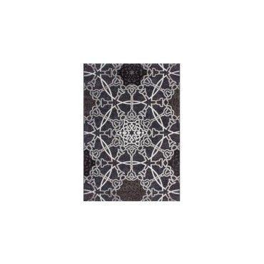 tapis tiss turquie marmaris noir dimension 200 x 290 cm aczrd vente de arte espina. Black Bedroom Furniture Sets. Home Design Ideas
