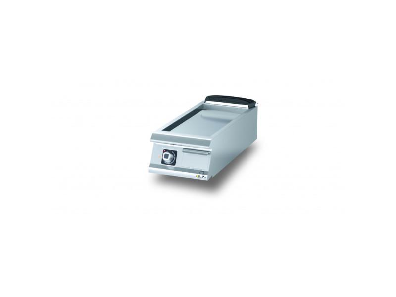 Plancha electrique lisse aisi 430 diamante 90 - 400 à 1200 mm - olis - acier 400 mm 900