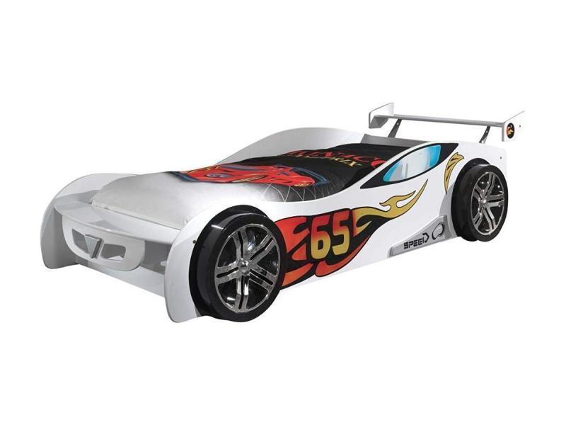 Funbeds Mans De Le Sclm200w Vipack Lit Voiture Vente Blanche CxBreod