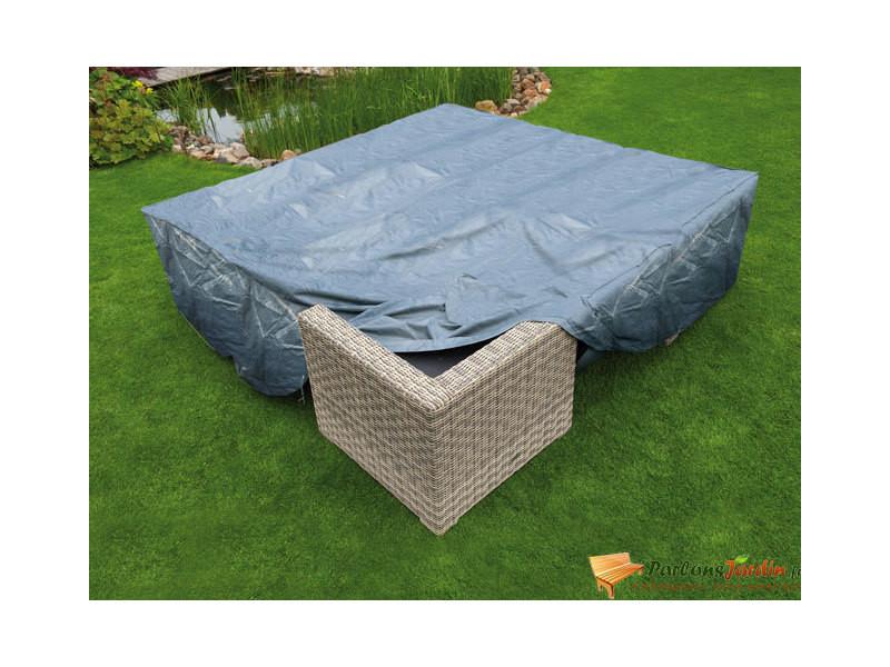 Housse de protection pour salon de jardin bas l325cm - Vente ...