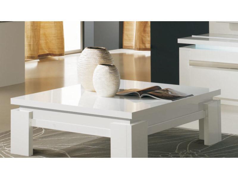Table Carrée Basse Alice Vente Laqué Design De Blanc Sofamobili n0Ok8wP