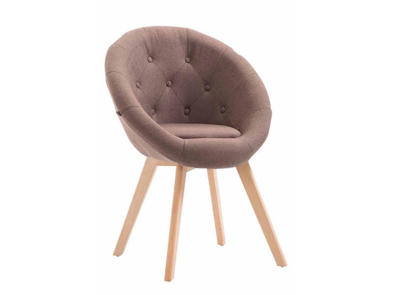 design dos Chaise boutons rond en à tissu avec fauteuil et FJK1Tlc