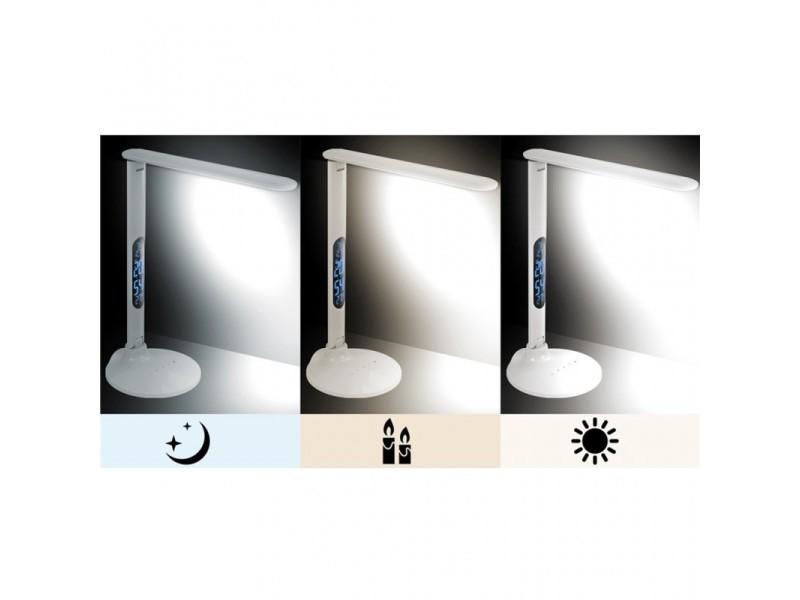 De Lampe Vente 101060 D20x51cm Thermomètre ToucheRéveil Led deCorBx