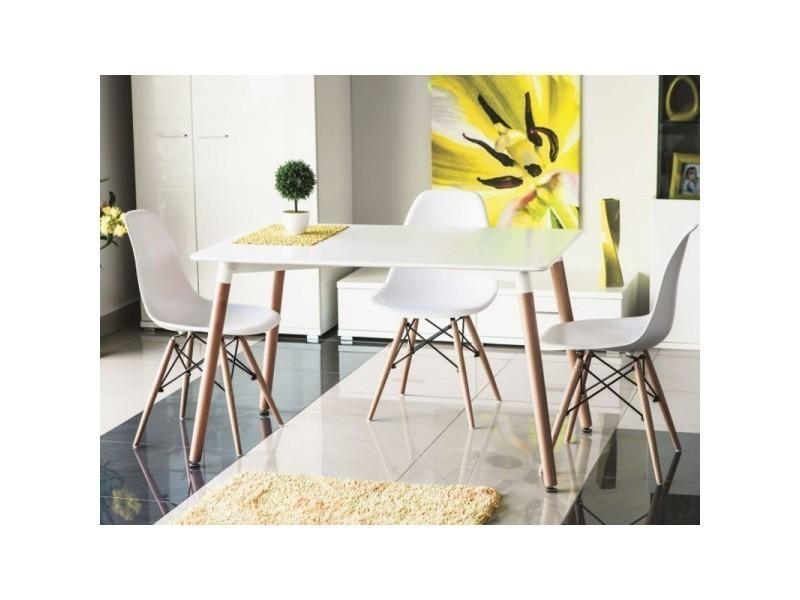 Table de cuisine 120 cm nolan scandinave TENDENCIO